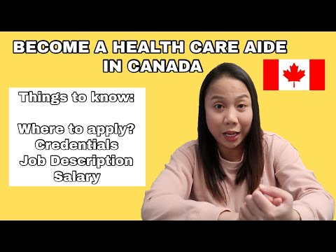 APPLY AS A HEALTH CARE AIDE IN CANADA | THINGS TO KNOW | MISSYOWNZ