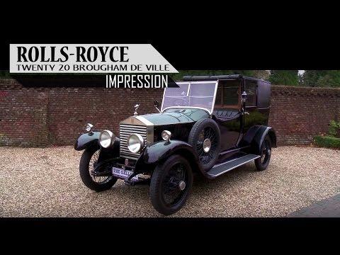 ROLLS-ROYCE 20 BROUGHAM DE VILLE (Thrupp & Maberly coachwork) 1926 - Small test drive | SCC TV