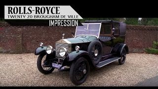 ROLLS-ROYCE 20 BROUGHAM DE VILLE (Thrupp & Maberly coachwork) 1926 - Small test drive | SCC TV