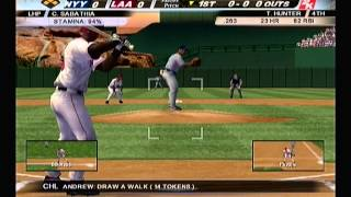 MLB 2K12 PS2 Yankees @ Angels HD