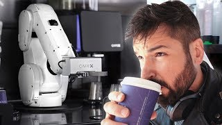 A DING DANG ROBOT MADE MY COFFEE