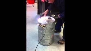 Plasma keg cut