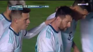 RESUMEN: Argentina vs Nicaragua