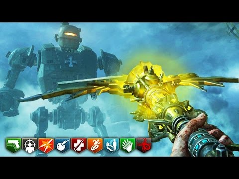 ORIGINS REMASTERED GAMEPLAY! (ALL STAFFS!) – BO3 ZOMBIES CHRONICLES DLC 5 GAMEPLAY (Black Ops 3)