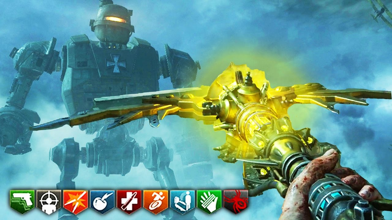 ORIGINS REMASTERED GAMEPLAY! (ALL STAFFS!) – BO3 ZOMBIES CHRONICLES ...