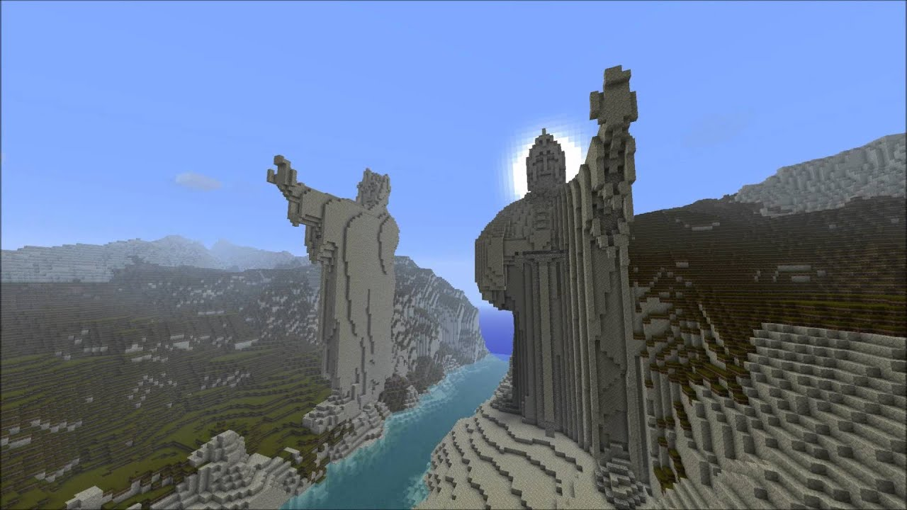 Minecraft Lord Of The Rings Server Website