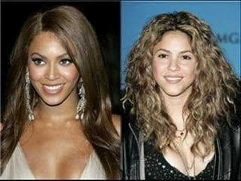 Beyonce and Shakira-Beautiful Liar