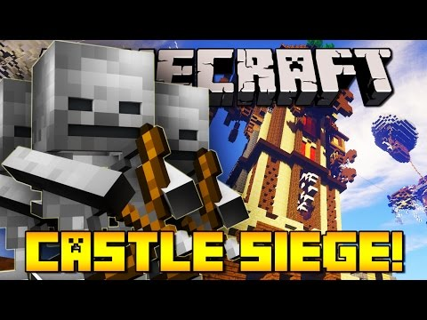 Minecraft CASTLE SIEGE (SAVE THE KING)
