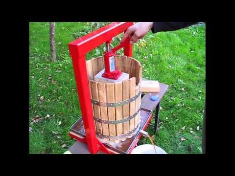 Как сделать пресс своими руками для яблок винограда