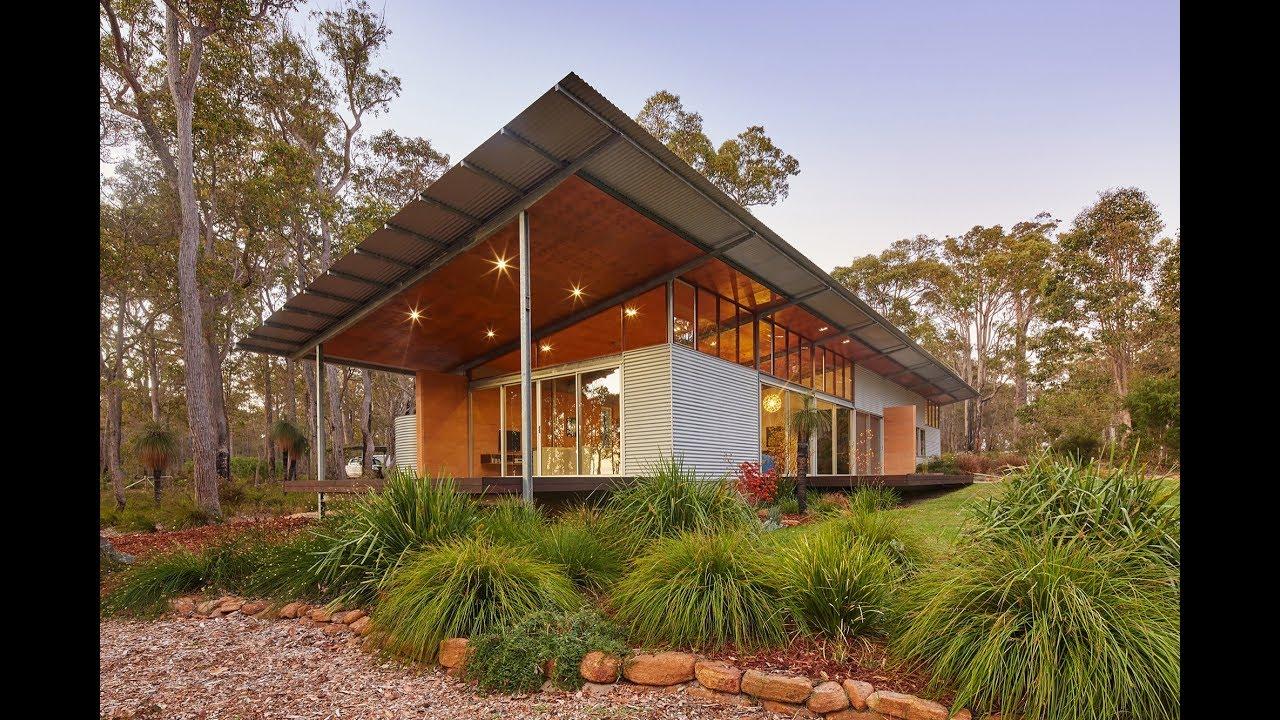 Passive Solar House Design Utilization In Bush House
