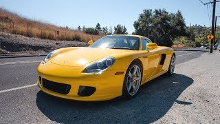 Taking The World's Most Dangerous Porsche Through The Canyons! (Carrera GT)