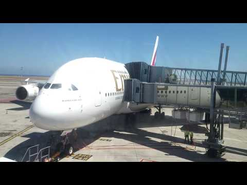 TRIPREPORT | Emirates | A380 | Nice-Dubai | Economy [Fly Events tripreports]