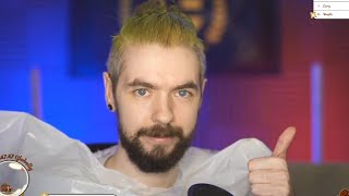 Jacksepticeye dyeing his hair green again ! (Charity Livestream)