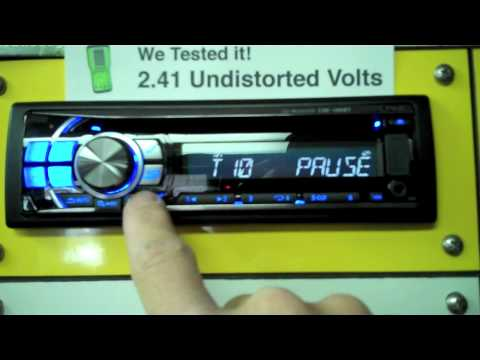 Mobile Edge Tests Output Voltage of Car Head Units - YouTube