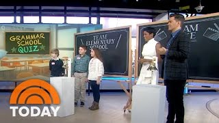 Andy Grammer Gets Quizzed On Grammar By Fifth Graders | TODAY