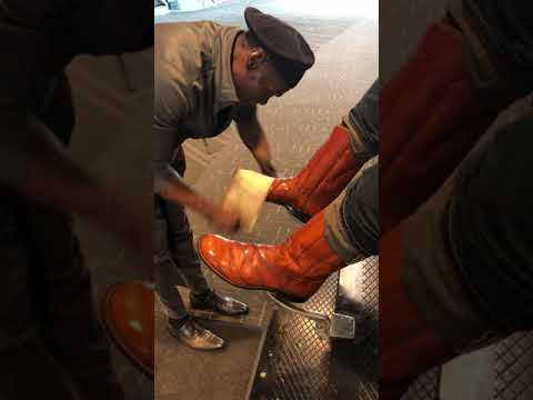 Eel Boots by Mr. Willie Savannah Shoe Shine