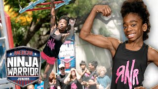 These Girl Ninjas BRING IT on the Course!  | American Ninja Warrior Junior | Universal Kids