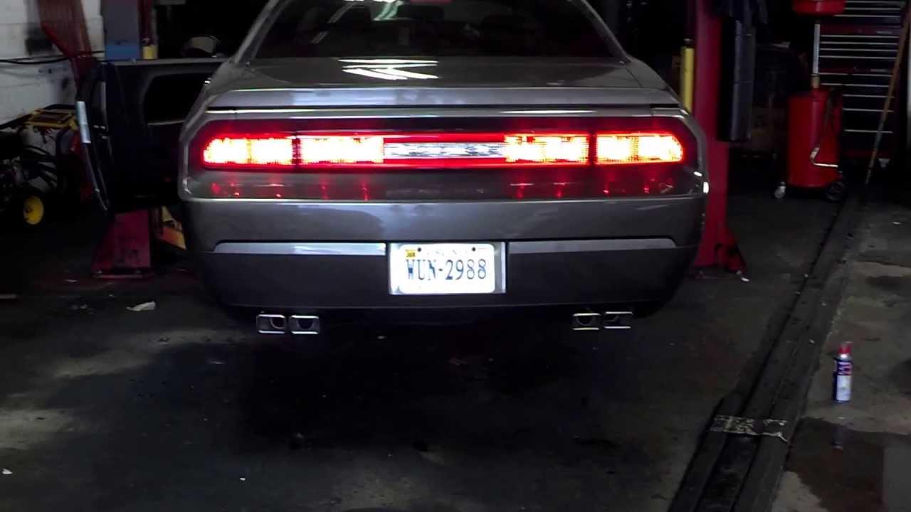 2009 Dodge Challenger R T Borla Atak Exhaust Youtube