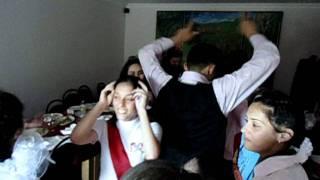 Последний звонок 11 ые классы 5 школы зажигают Ирон хадзары 3  25 05 2011
