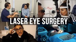 My Laser Eye Surgery Experience VLOG