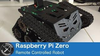 Pi Zero W Tank with ThunderBorg and Devastator Platform