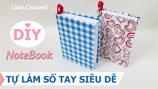 How to make a paper little book | DIY Paper Book | Paper Notebook| Liam Channel