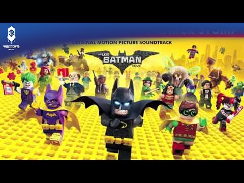 OFFICIAL - Who's The (Bat)Man - Patrick Stump -  The Lego Batman Soundtrack