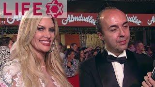 Susan Holmes & Francesco Scognamiglio auf dem Life Ball 2017 | Magenta Carpet