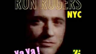 "Ron Rogers  ""Ya Ya""    Recorded at Electric Lady Sudios NYC"