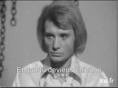 Johnny Hallyday - Que je t'aime (yanjerdu26)(Avec les paroles de la chanson)