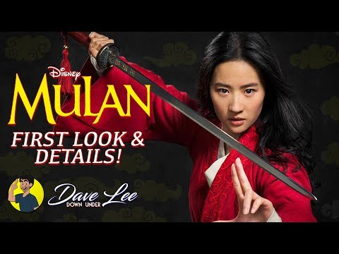 Disney's MULAN  First Look & Details