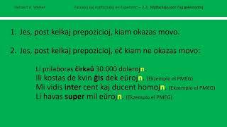 Facilaĵoj kaj Malfacilaĵoj en Esperanto – 2