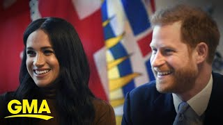 Prince Harry and Meghan relocate to Los Angeles l GMA