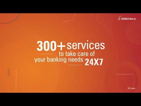 Why ICICI Bank Internet Banking?