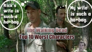 the walking dead top 10 worst characters as of season 4 start