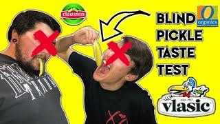 2 Guys 5 Pickles || Blind Pickle Taste Test