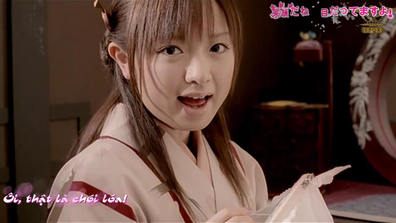 (Vietsub) Morning Musume Sakuragumi /  Sakura Mankai PV close up