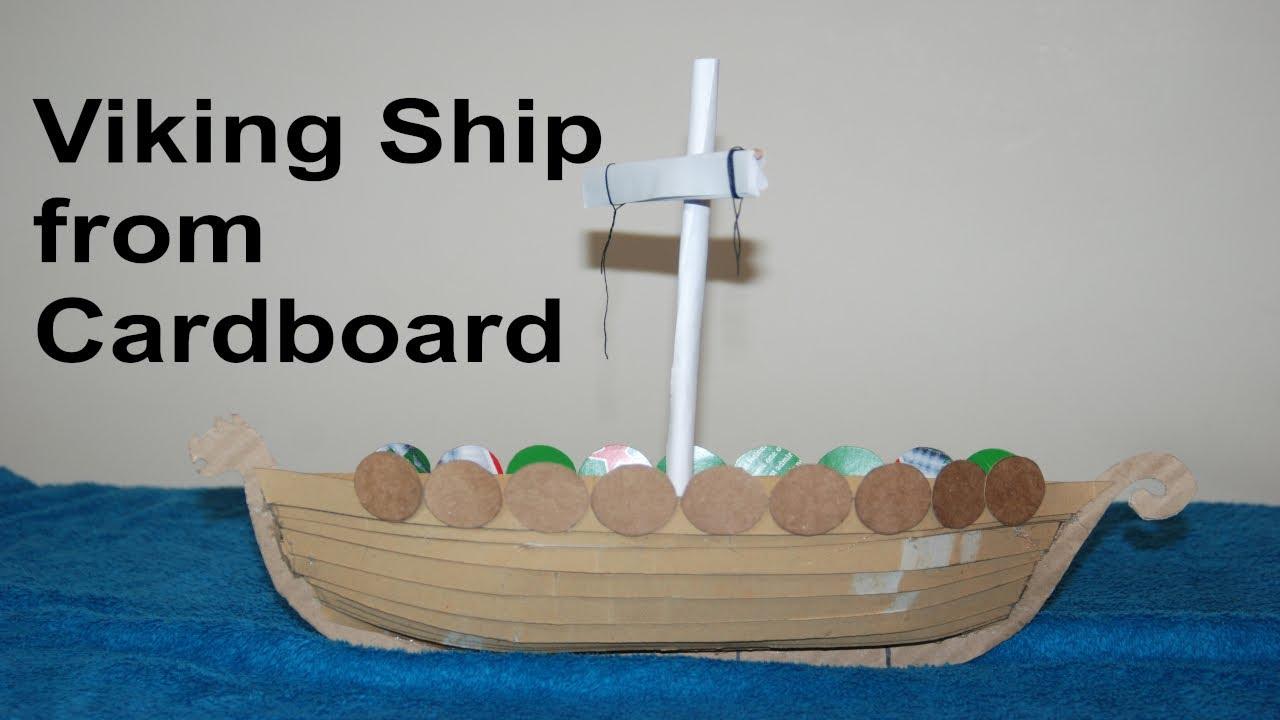 how to make a viking ship