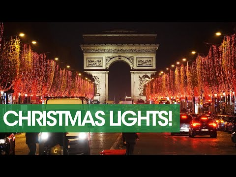 Where To Find Christmas Lights In Paris During The 2019 Strike 🎄❄🎅❄🎄