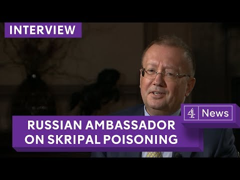 'No proof' Sergei Skripal ill in hospital: Russian Ambassador Alexander Yakovenko