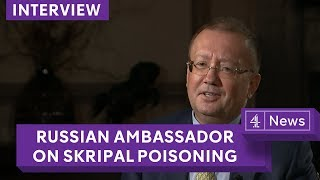 'No proof' Sergei Skripal ill in hospital: Russian Ambassador Alexander Yakovenko thumbnail