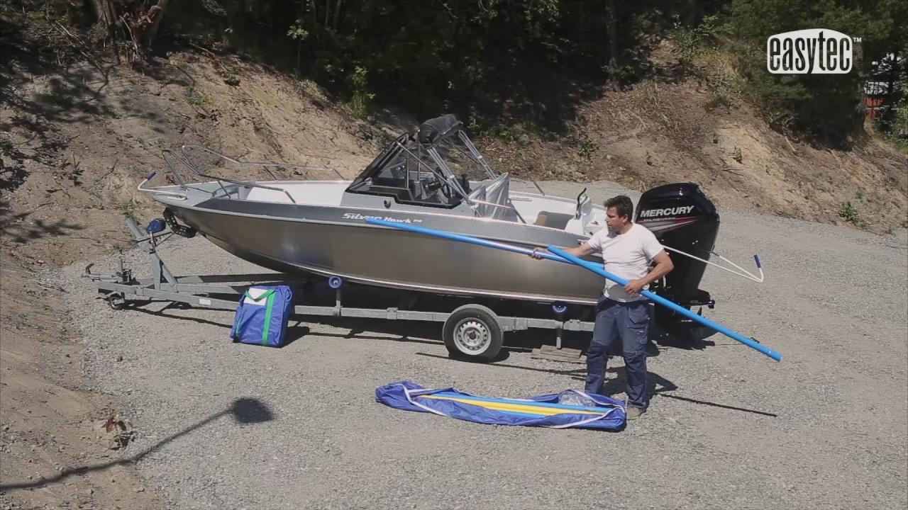båt röret krok upp