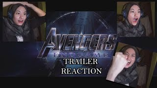 AVENGERS END GAME TRAILER REACTION (MALAYSIA)