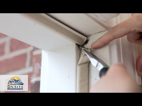 How To Replace Exterior Door Weather Stripping Youtube