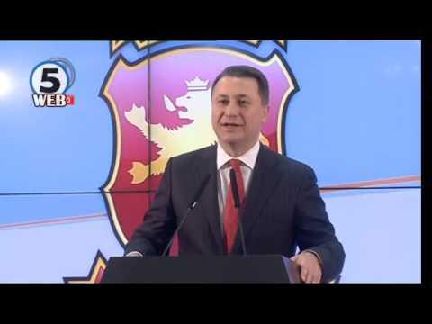 Груевски прогласи победа со 434 051 глас за ВМРО ДПМНЕ наспроти 415 258 за СДСМ