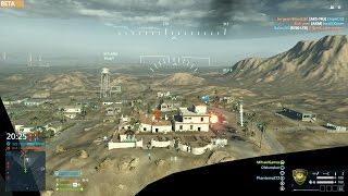 Battlefield Hardline Beta Multiplayer Gameplay - Transport Helicopter 1080p GT 650M