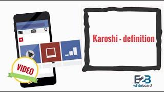 Karoshi - definition
