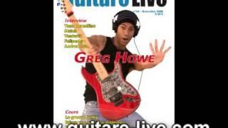 Sommaire du Guitare Live 44 de novembre 2008