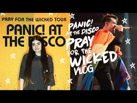 💛FRONT ROW for PANIC! AT THE DISCO! 💛| Vlog