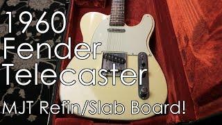 "Video ""Pick of the Day"" - 1960 Fender Telecaster (MJT Refin/Slab Board) download MP3, 3GP, MP4, WEBM, AVI, FLV Juli 2018"